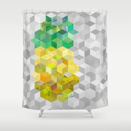 Pineapple! Shower Curtain