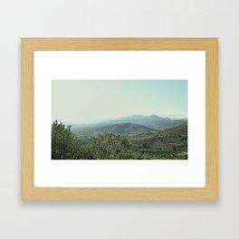 Greek Olives Framed Art Print