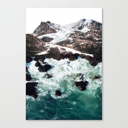Sea and Mountains Canvas Print