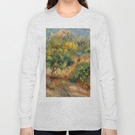 """Auguste Renoir """"Esquisse de paysage à Cagnes"""" Long Sleeve T-shirt"""