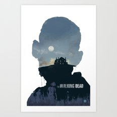 The Walking Dead - Season 2 Art Print