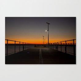 Wyndham Pier. Canvas Print