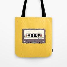 Polka dot cassette tape Tote Bag