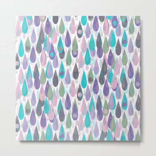 Let it Rain IV Metal Print