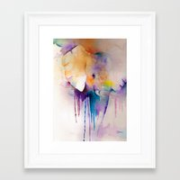 baby elephant Framed Art Prints featuring baby elephant by Laura Ferro