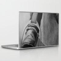 heels Laptop & iPad Skins featuring Heels Down by JMck Artwork