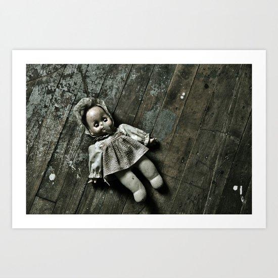 Betty Bonnett Slumber Art Print