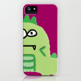 The Sea Dino iPhone Case
