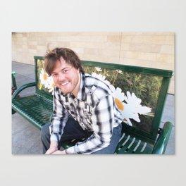 Brock Wilbur September Bench 2 Canvas Print