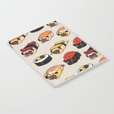 Sushi Pug Notebook