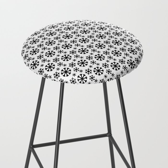 Black Snow Bar Stool
