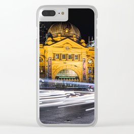 Flinders Street Station Clear iPhone Case