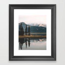 Sparks Lake Framed Art Print