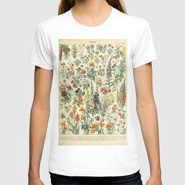 Adolphe Millot Vintage Fleurs Flower 1909 T-shirt