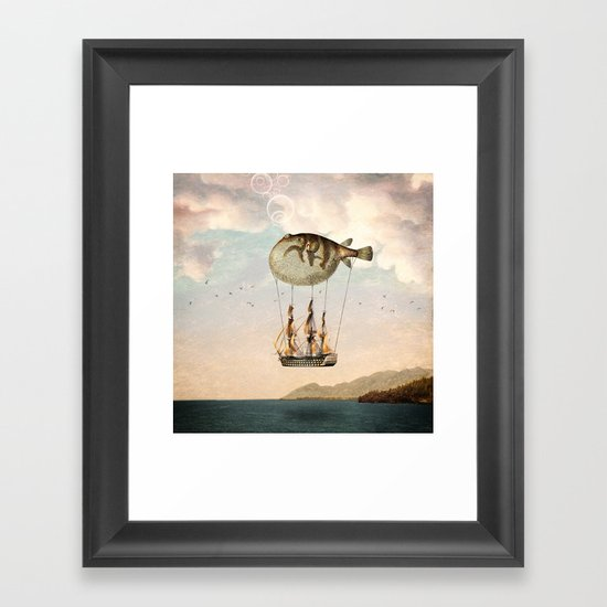 The Big Journey Framed Art Print