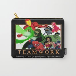 """INK-SPIRATION: """"Teamwork"""" 1 Carry-All Pouch"""