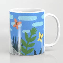 Peaceful Cat Coffee Mug