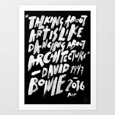 RIP ZIGGY Art Print