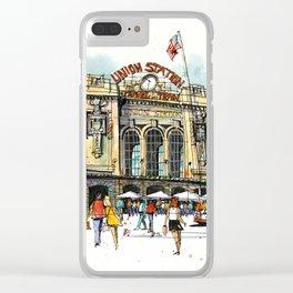 Denver's Union Station Clear iPhone Case