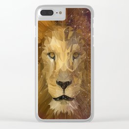 Invincible Leo Clear iPhone Case