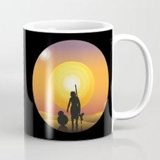 Walking under two suns Mug