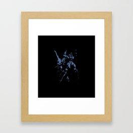 Blue GDM Framed Art Print