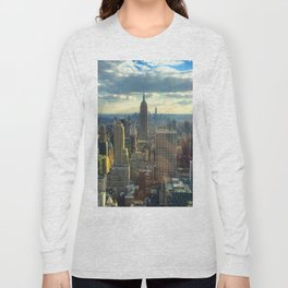 View Of New York City Long Sleeve T-shirt