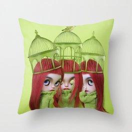 ME MYSELF AND I Throw Pillow
