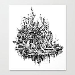 h hum Canvas Print