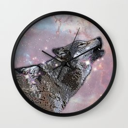 Howl at me Wall Clock