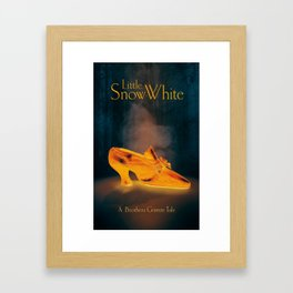 A Brothers Grimm Tale: Little Snow White Framed Art Print