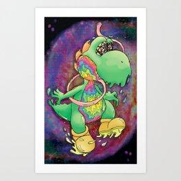 Dinodelic Art Print