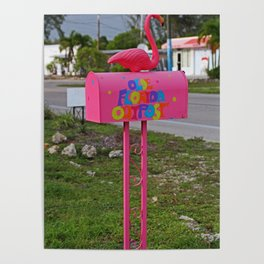 Olde Florida Outpost Mailbox Poster