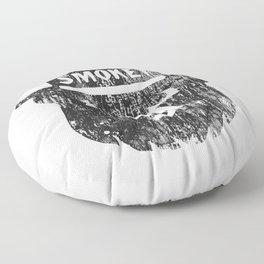 Smokey Bear Distressed Logo Floor Pillow