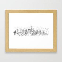 San Francisco! (Landscape) Framed Art Print