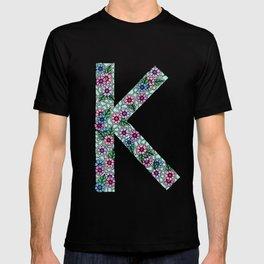 K Initial T-shirt