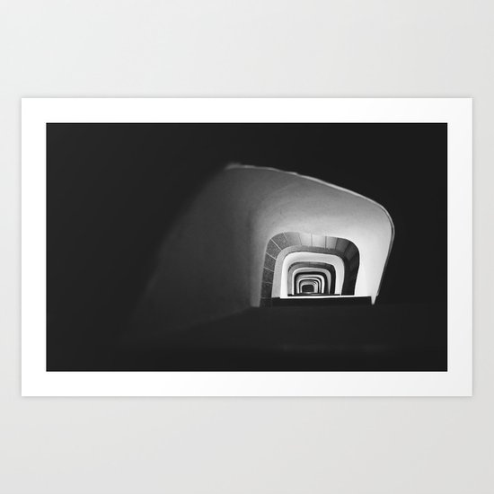 Aurea ladder Art Print
