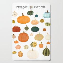 Pumpkin Patch Season Cutting Board