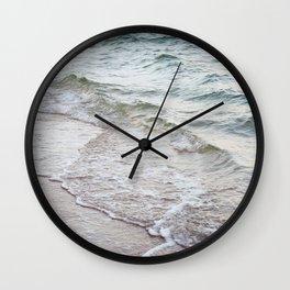 Serene Waves Wall Clock