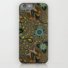 Boho Floral Pattern 17 Slim Case iPhone 6s