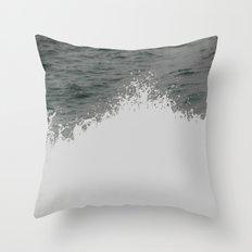 MAINE FERRY WAKE 2 Throw Pillow
