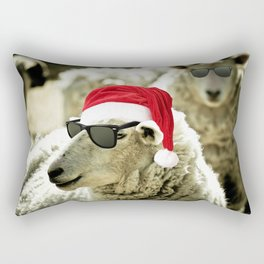 Tis The Season - Sheep Rectangular Pillow