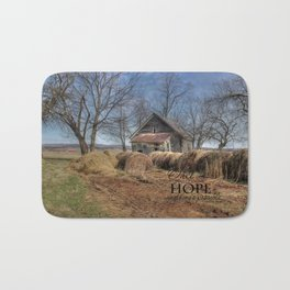 Hope and possiblites Bath Mat