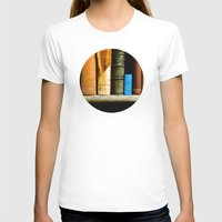 books T-shirts featuring Books  by Loaded Light Photography