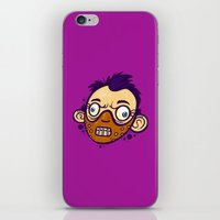 hannibal iPhone & iPod Skins featuring Hannibal by Artistic Dyslexia