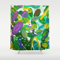 Between the branches. III Shower Curtain