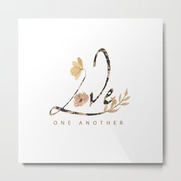 LOVE - one another Metal Print