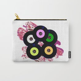 Singles Collection Jazz Background Carry-All Pouch