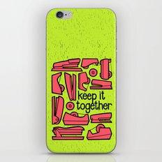 keep it together ii iPhone & iPod Skin