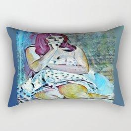 Consternation Rectangular Pillow